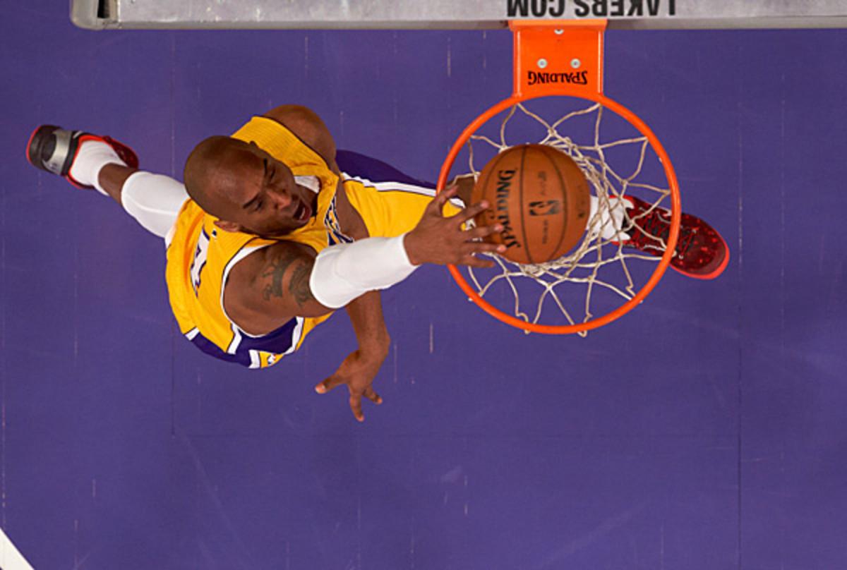 Kobe Bryant :: John W. McDonough/SI