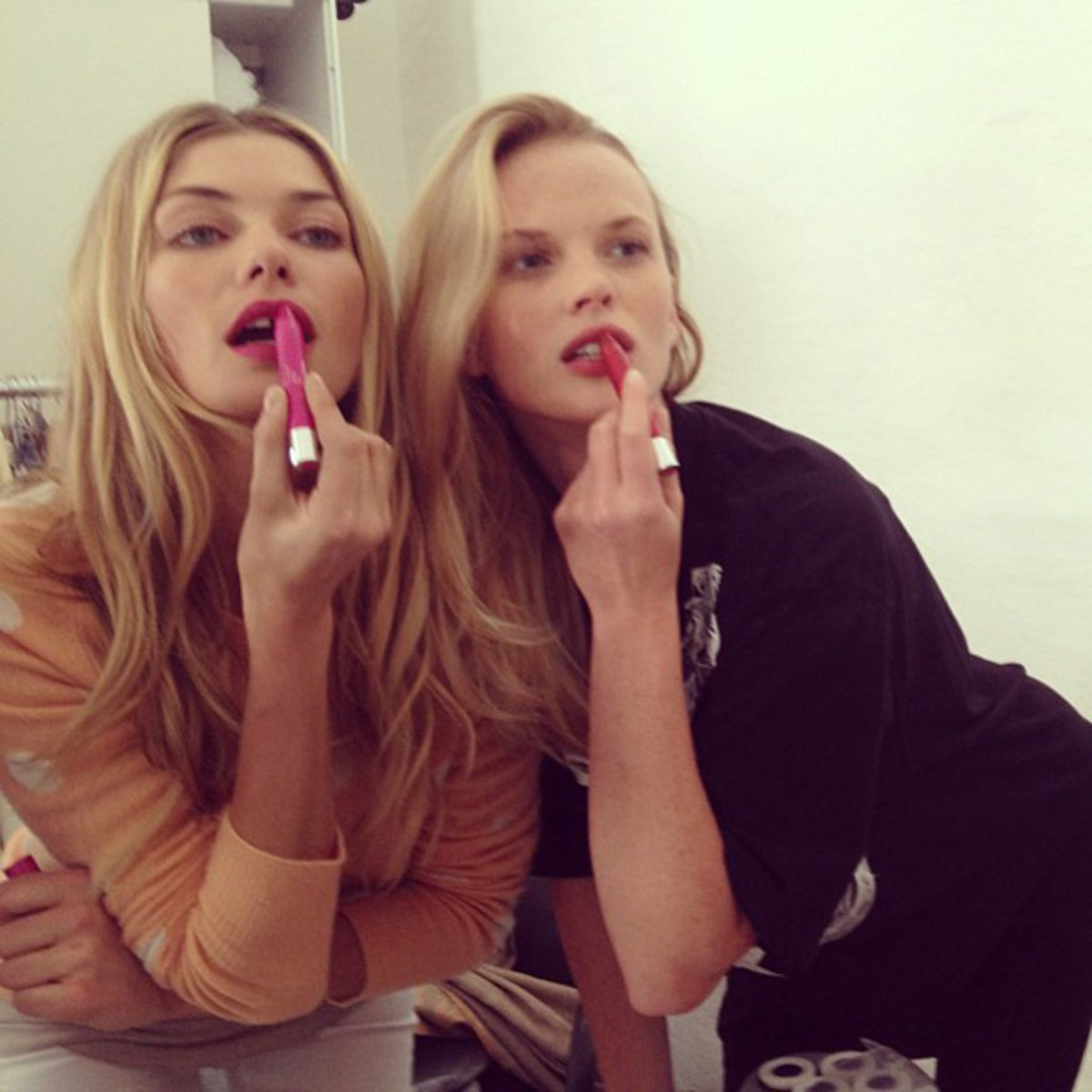 Jessica Hart and Anne V :: @annev_official