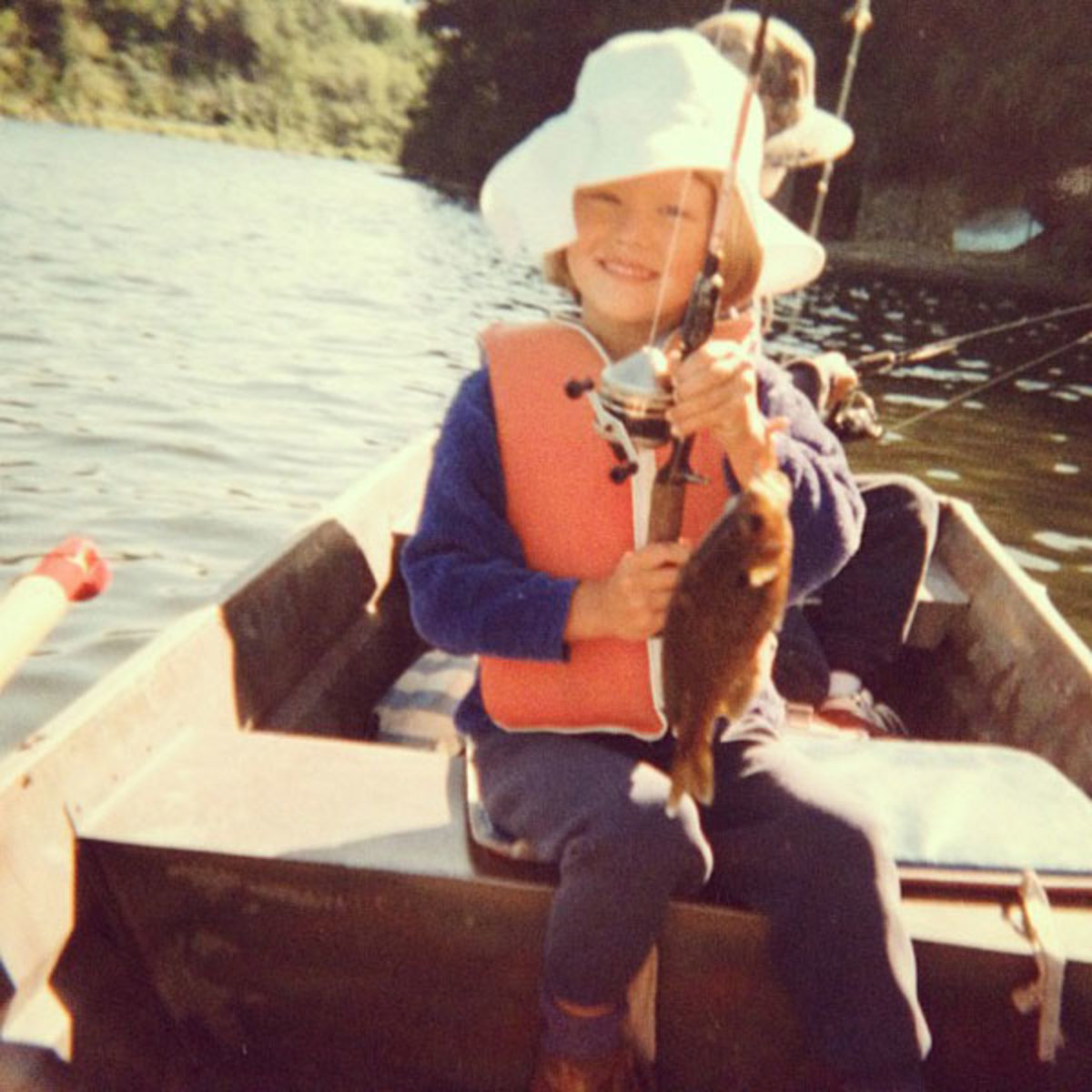 (young) Emily fishing with her dad :: @emilydidonato1