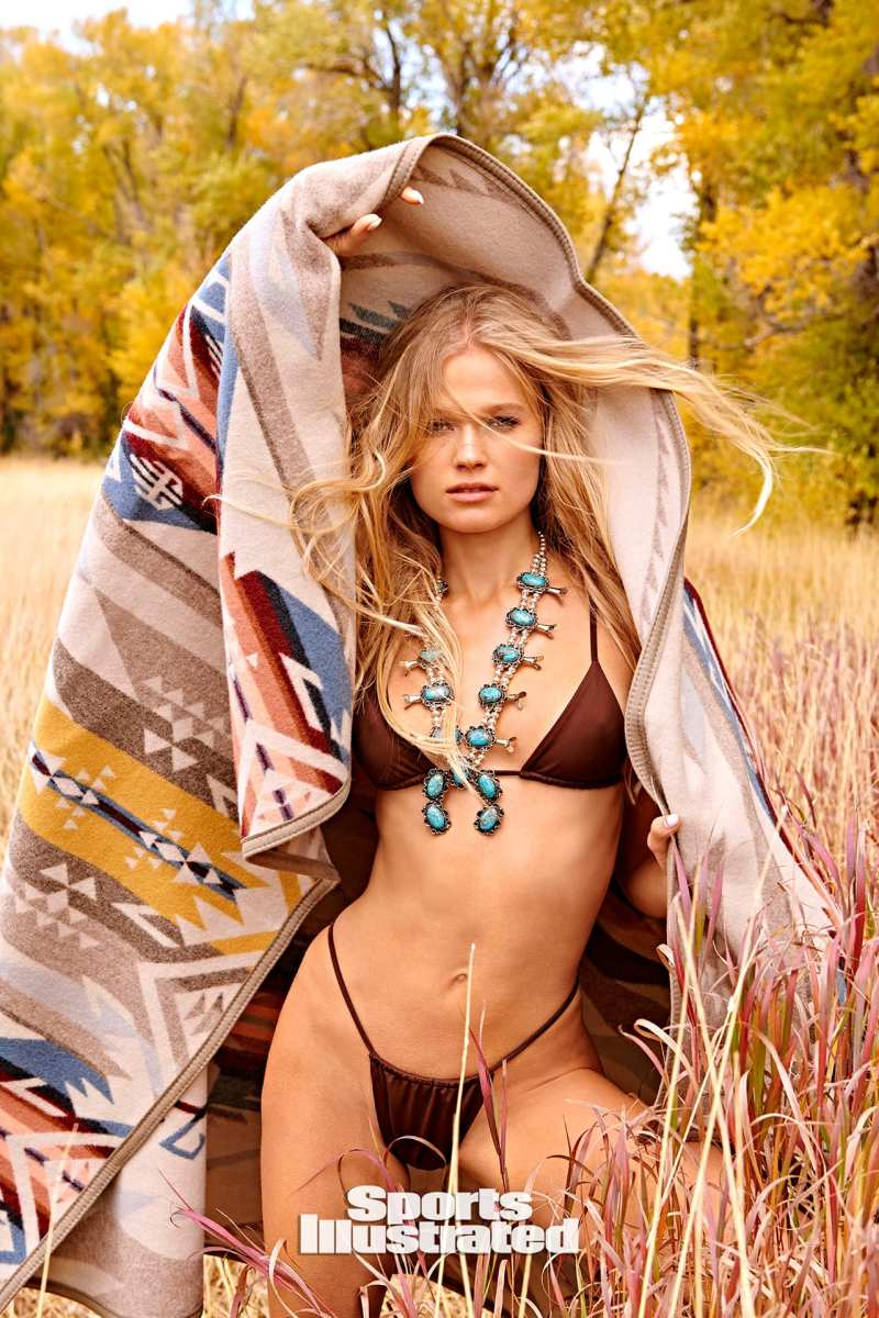 Vita Sidorkina photographed by Ruven Afanador in Wyoming