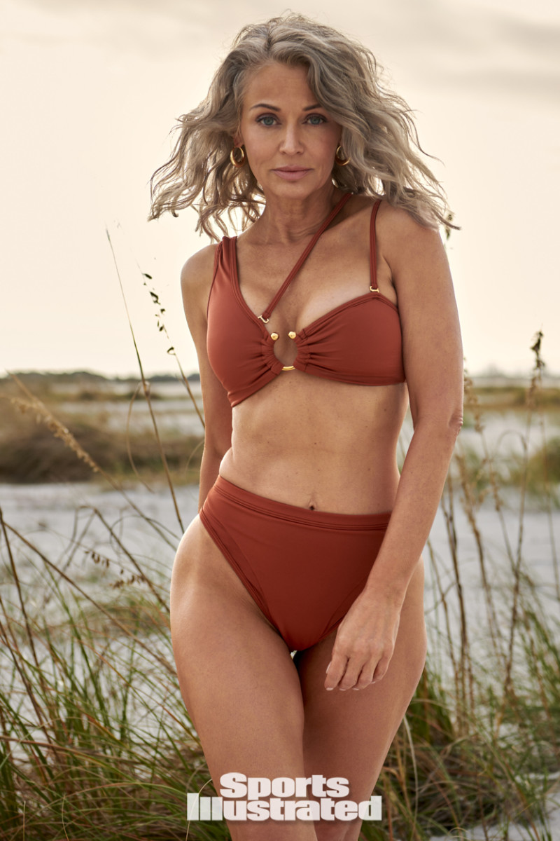 Kathy Jacobs was photographed by Yu Tsai in Tampa, FL wearing Bfyne Swimwear.