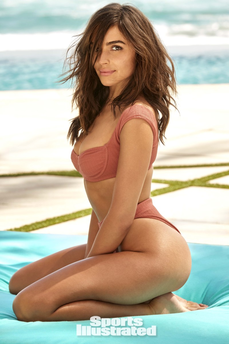 Olivia Culpo was photographed by Ben Watts in Hollywood, FL.