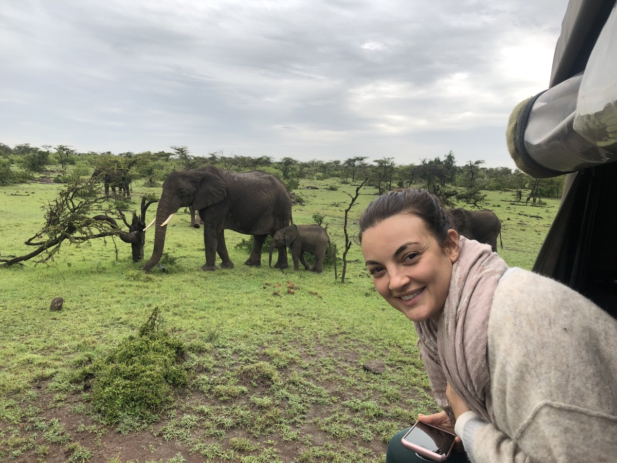 Janine Berey in Kenya for the 2019 issue.