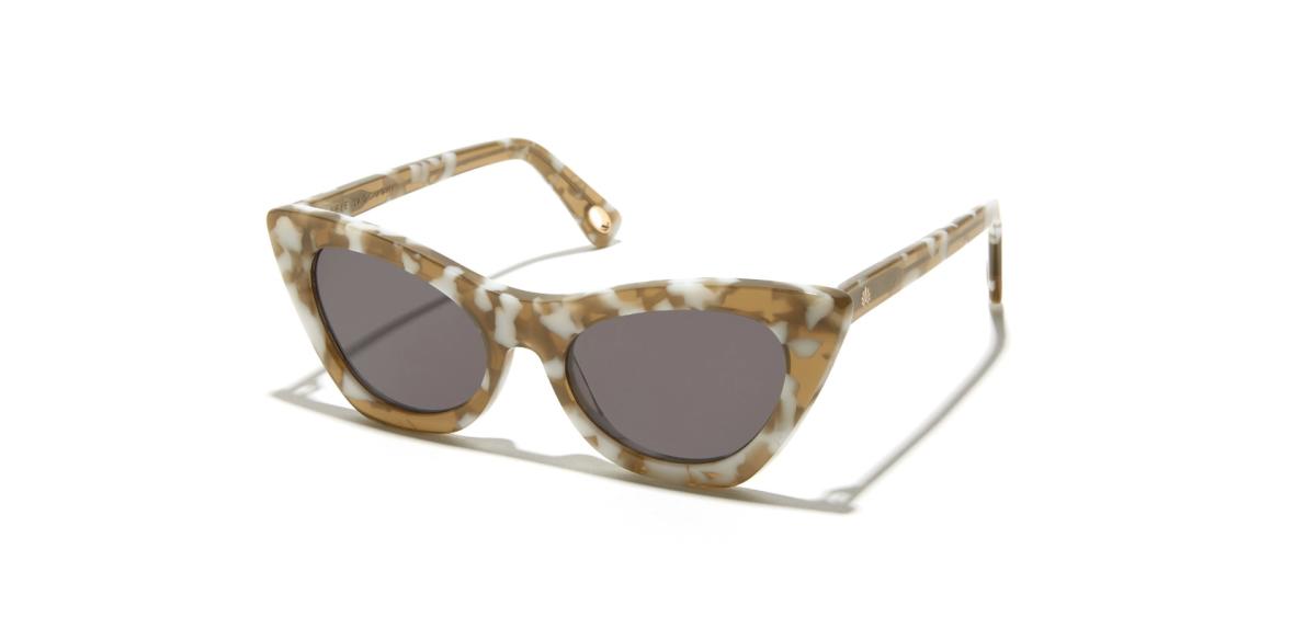 LeLe Sadoughi: Smokey Quartz Downtown Cat-Eye Sunglass ($175)