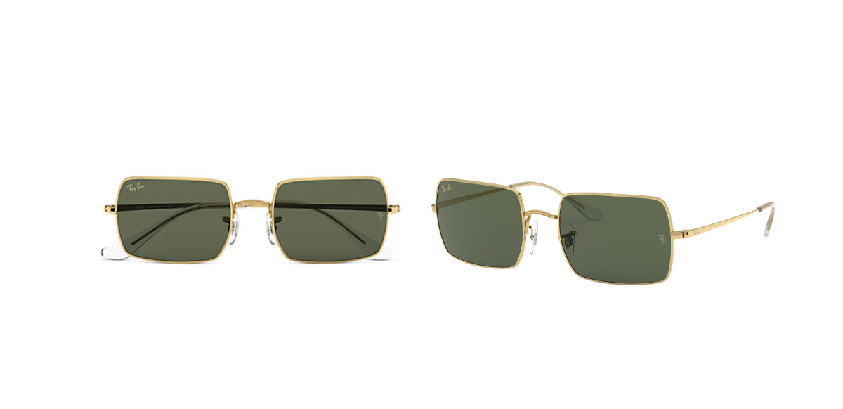 Ray-Ban: Rectangle 1969 Legend ($123.20)