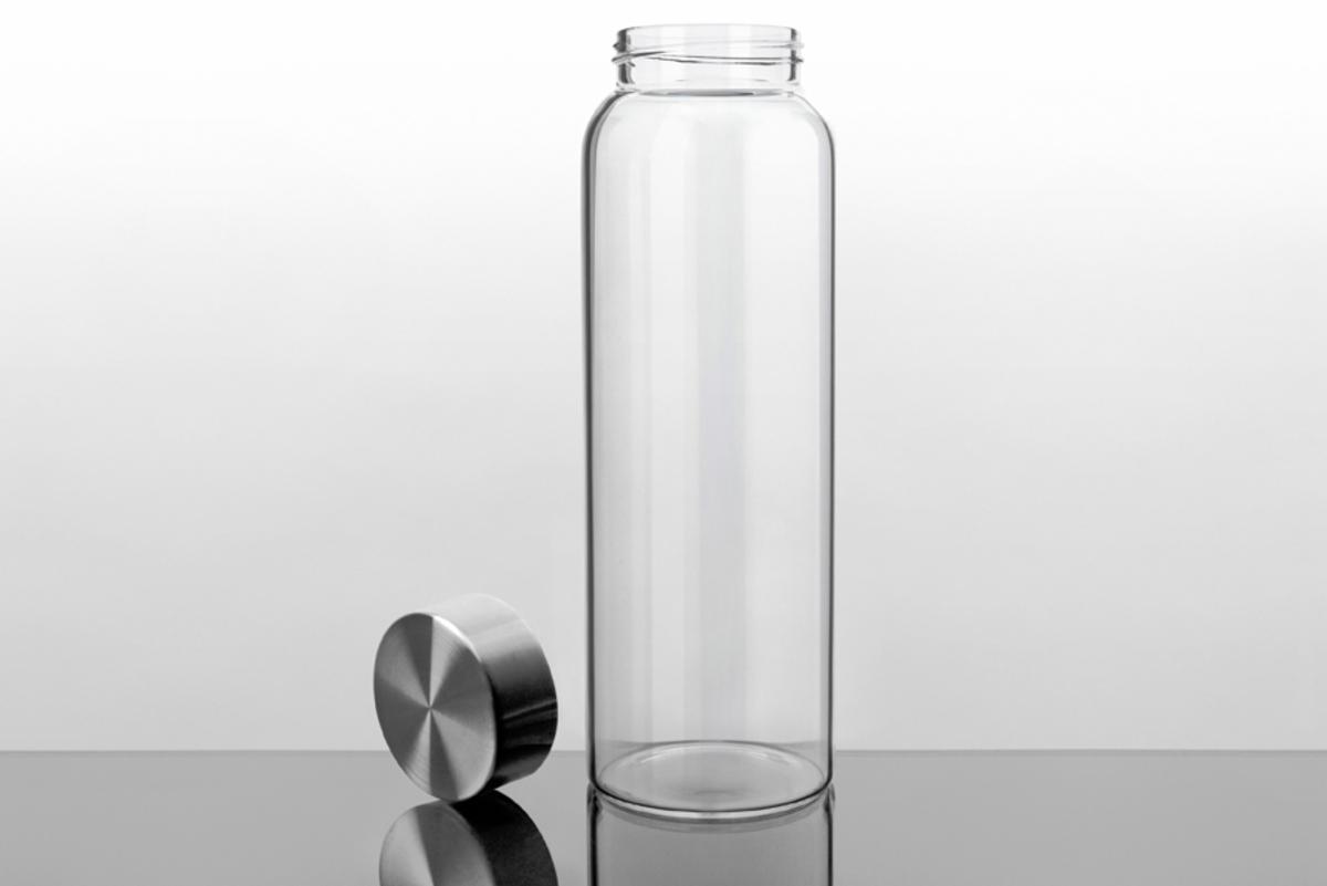Kablo 32 oz Glass Water Bottle, $40