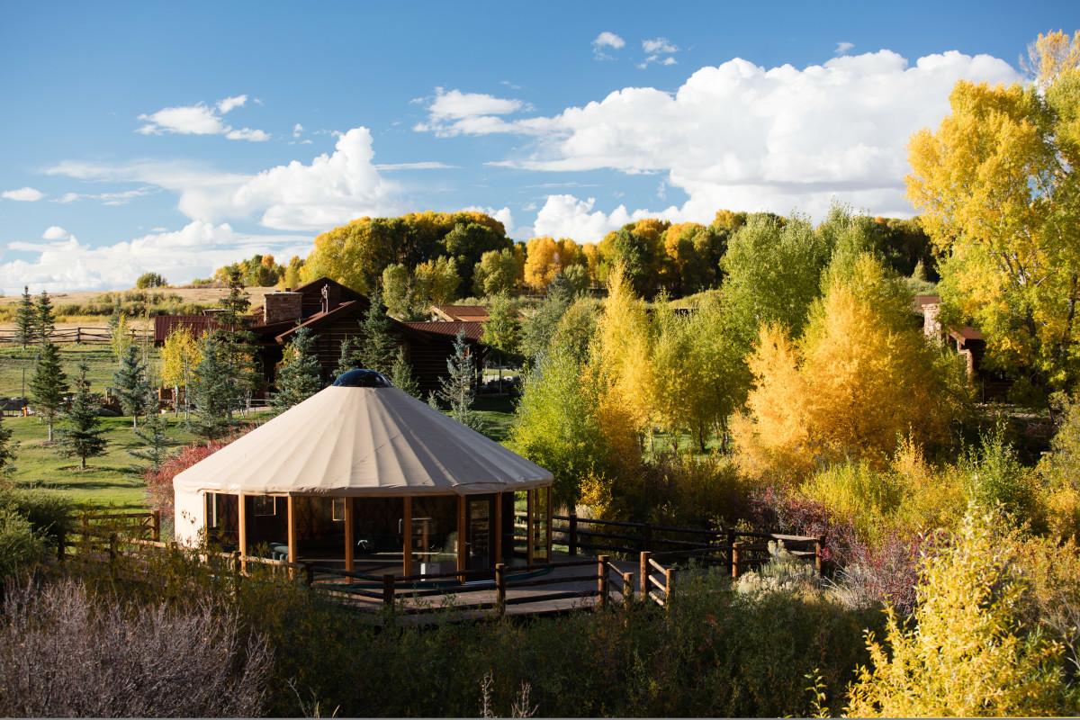 Magee Yoga Yurt