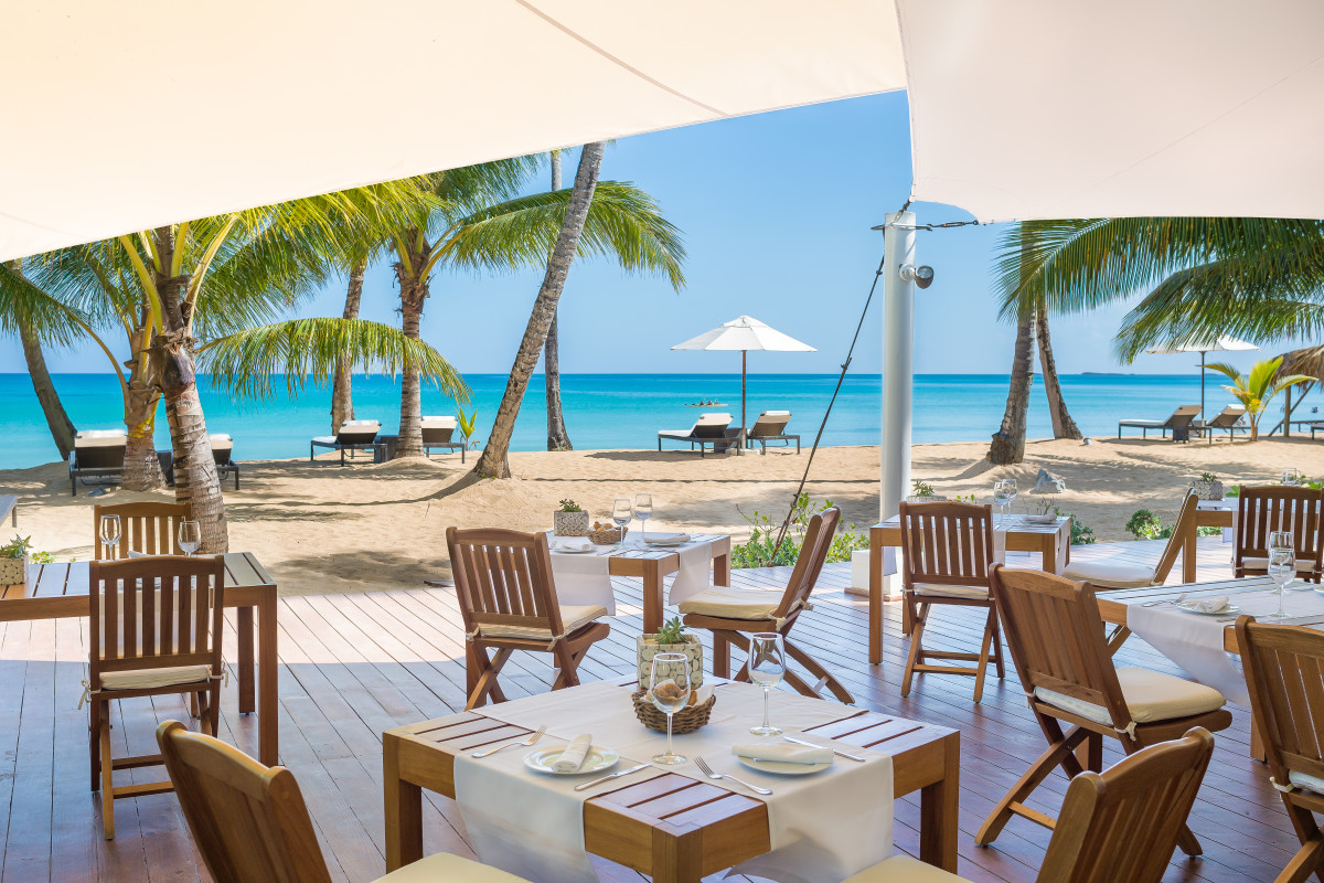 Beachside Grill Palapa