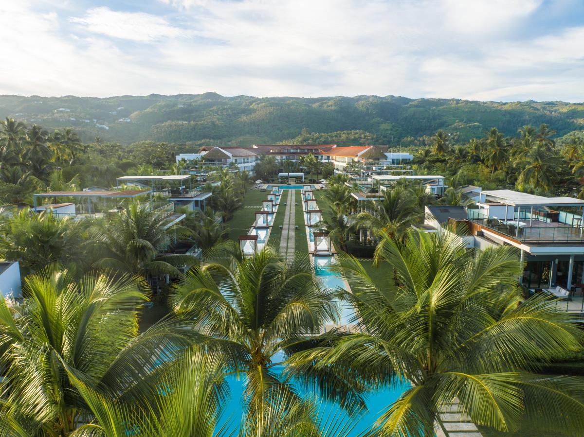 Palm canal views
