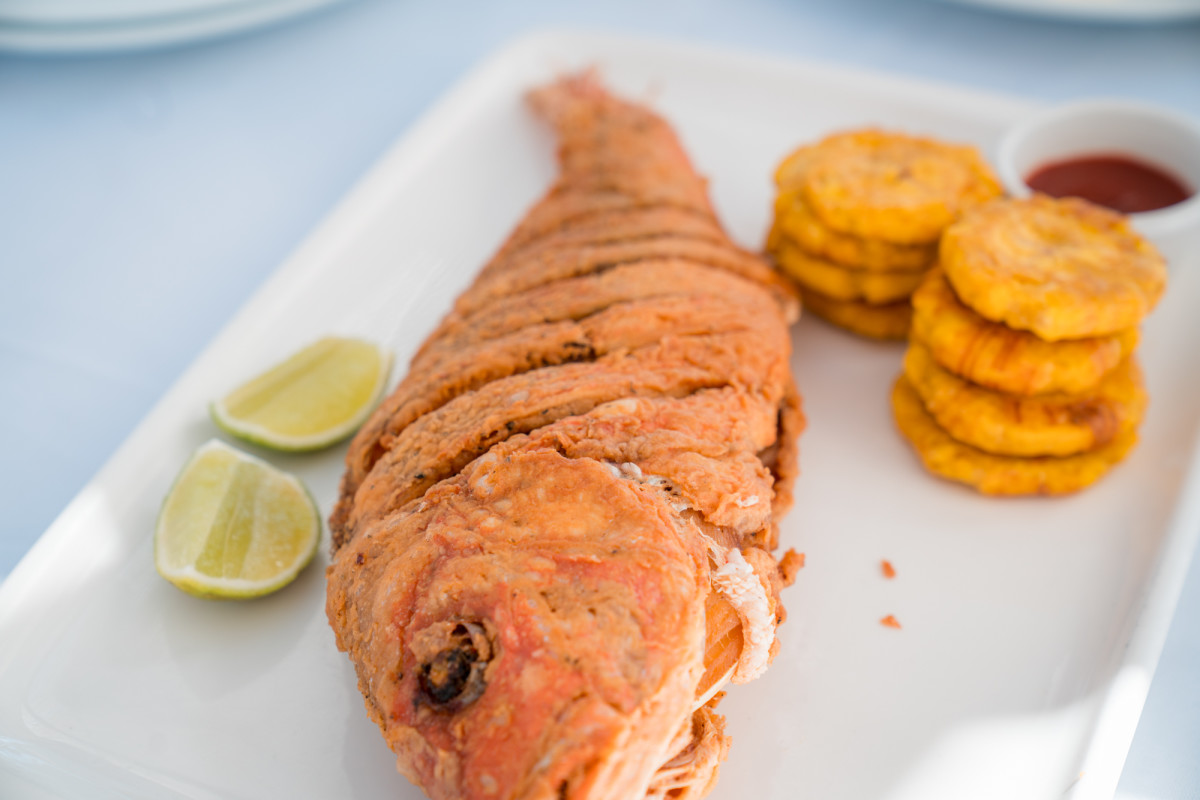 Fried Fish and Plantains