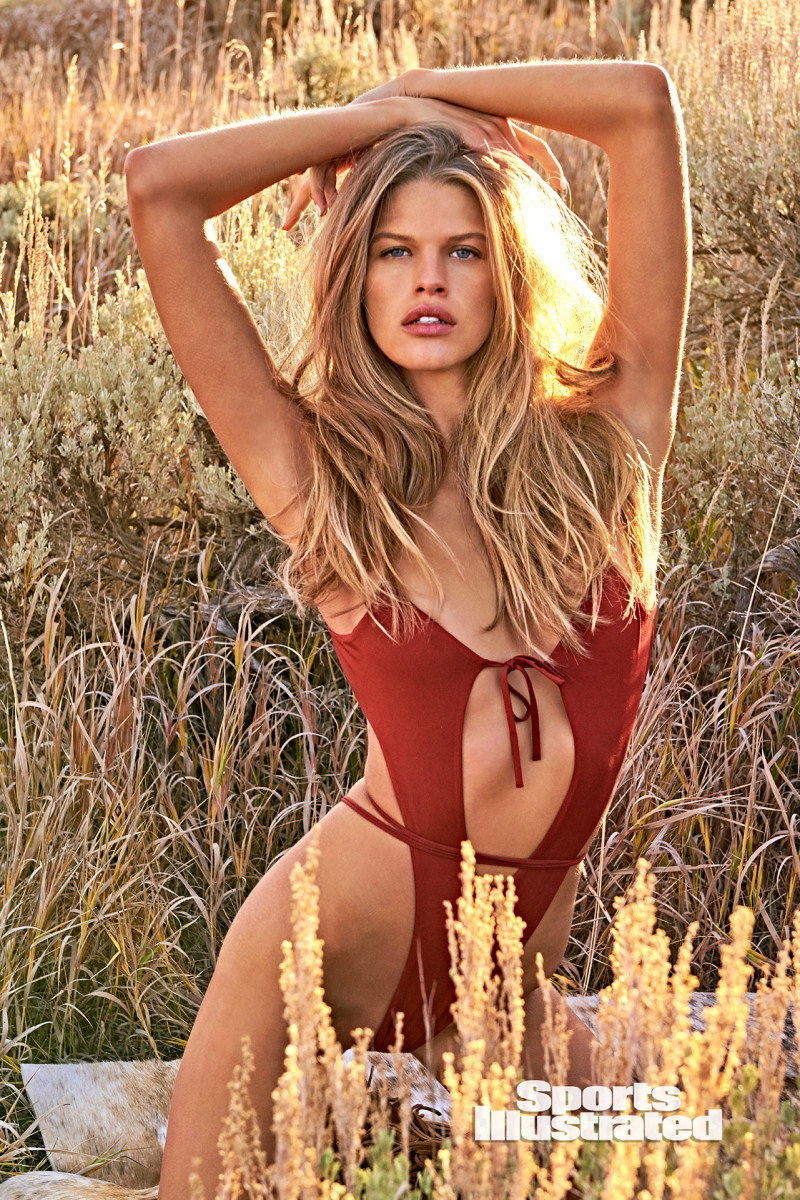 Kim Riekenberg was photographed by Ruven Afanador in Saratoga, WY. Swimsuit by Oh Polly.