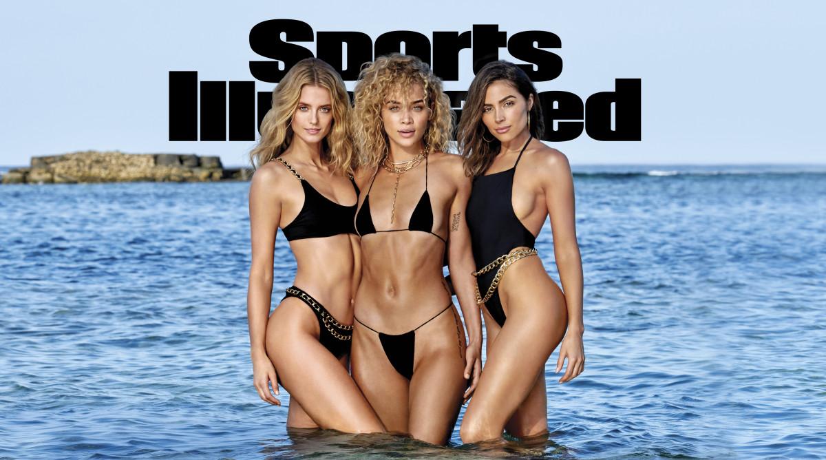 Sports Illustrated Issue 2020 Cover Kate Bock Jasmine Sanders Olivia Culpo Swimsuit Si Com