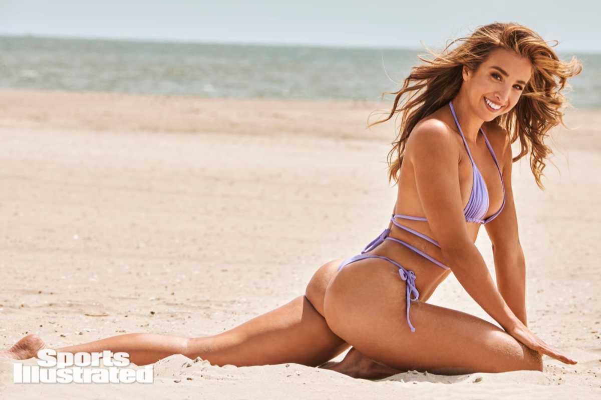 Katie Austin was photographed by Yu Tsai in Atlantic City, N.J. Swimsuit by Seven Swim.