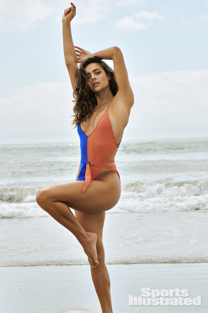 Ally Courtnall photographed by Yu Tsai in Atlantic City, N.J. Swimsuit by Gil Rodriguez.