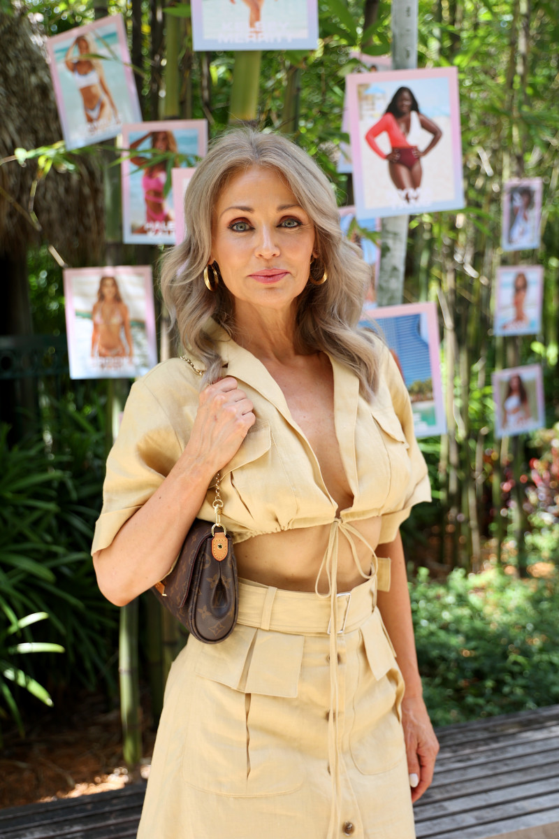 Kathy Jacobs attends the Sports Illustrated Swimsuit celebration of the launch of the 2021 Issue at Seminole Hard Rock Hotel & Casino