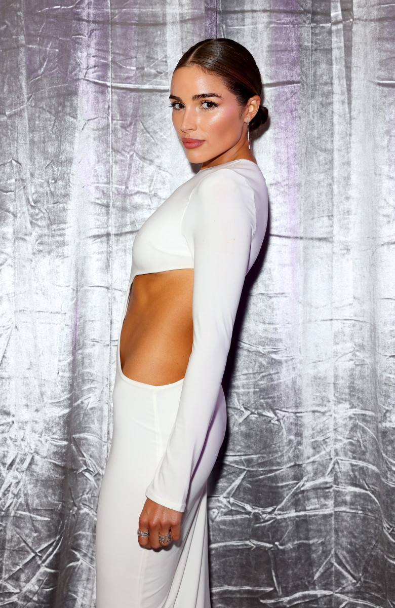 Olivia Culpo attends the Sports Illustrated Swimsuit celebration of the launch of the 2021 Issue at Seminole Hard Rock Hotel & Casino on July 23, 2021.