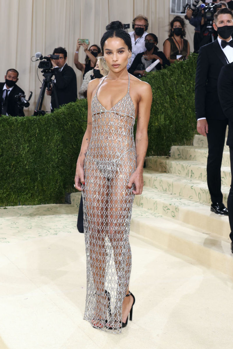 Zoe Kravitz in YSL.Photograph byTaylor Hill/Getty Images